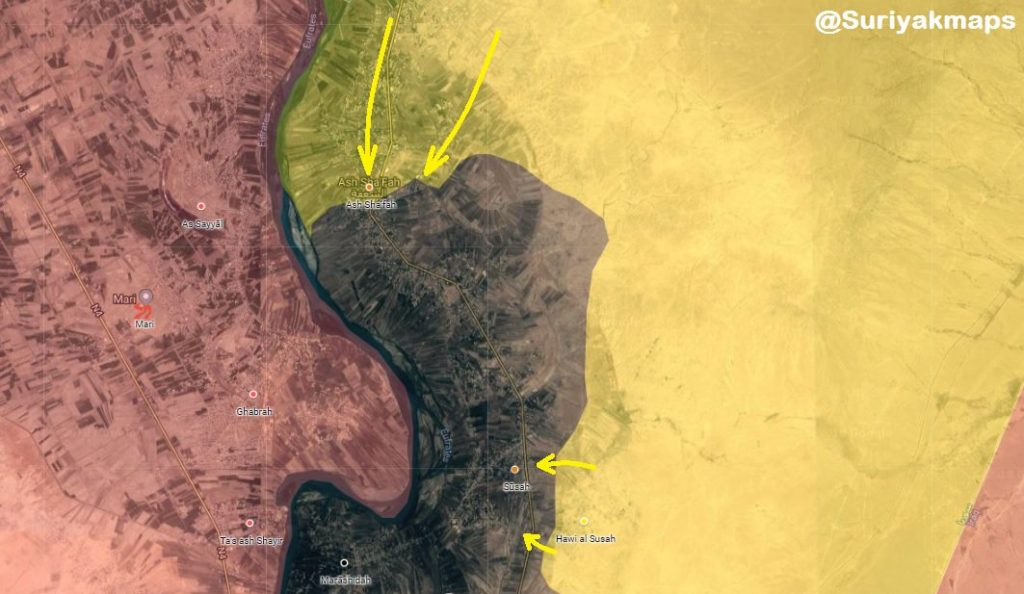 US-backed Forces Launch Another Push To Capture Shafah In Euphrates Valley