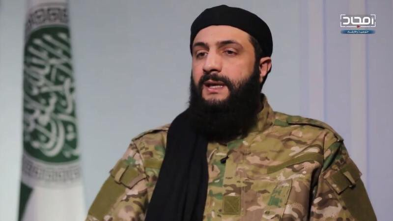 Hay'at Tahrir Al-Sham Leader Declares His Support To Possible Turkish Operation Against YPG In Northeastern Syria