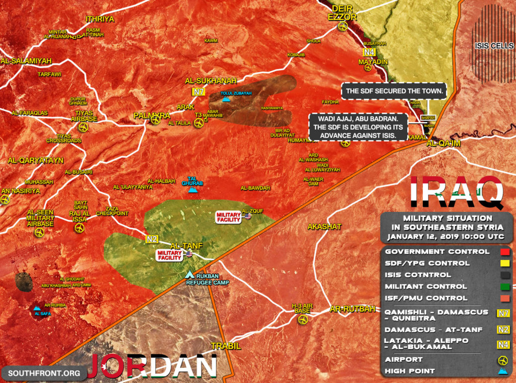 US-Backed Forces Continue Their Advance On ISIS Positions In Euphrates Valley (Map Update)