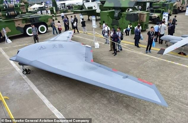 China Unveils Flight Footage Of Its Futuristic Stealth Drone 'Sky Hawk'