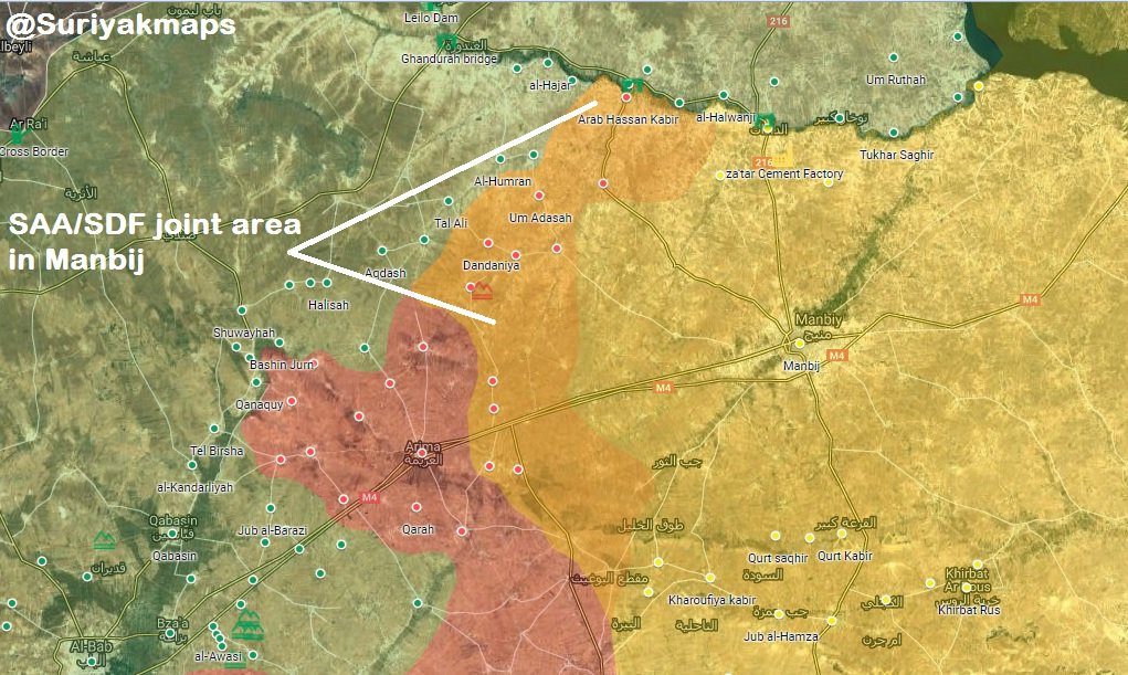 In Maps: Syrian Army Strengthens Its Positions On Contact Line With Turkish-occupied Area In Northern Syria