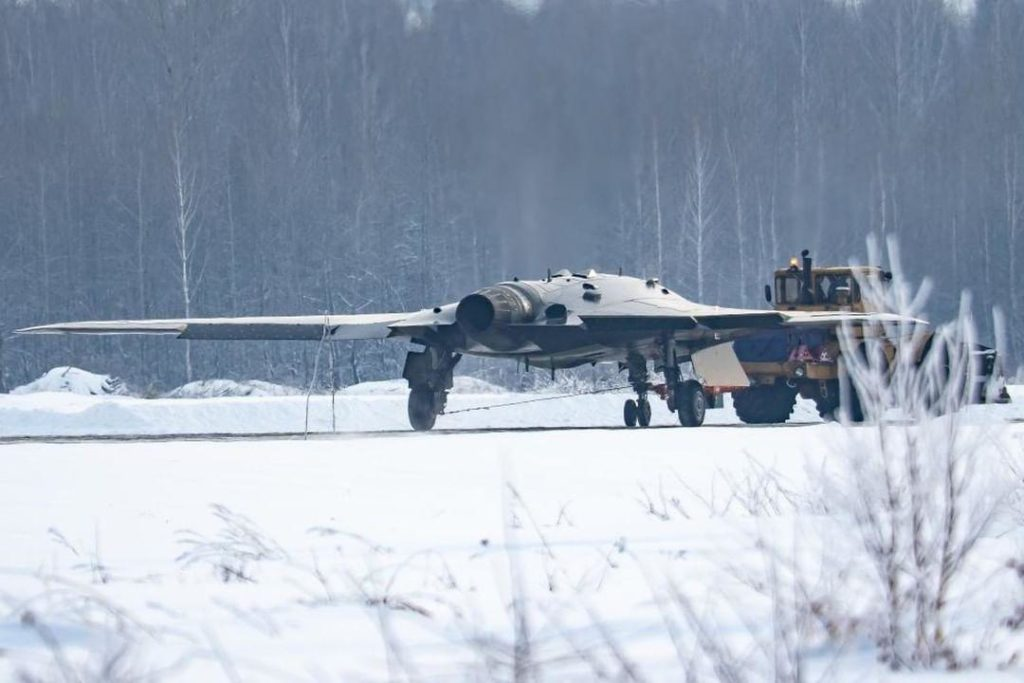 Photo Of Russia's 'Hunter' Stealthy Unmanned Combat Air Vehicle Appears Online