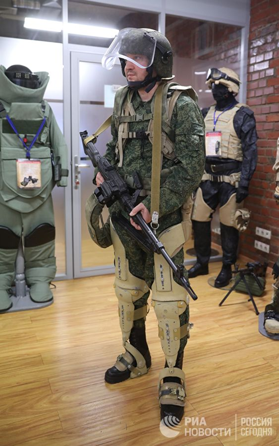 Russia's New Military Exoskeleton Is Alredy Tested In Syria