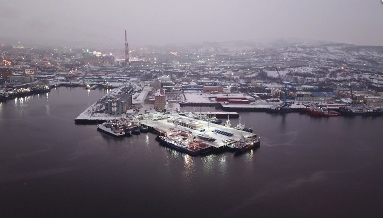 In Photos: New Stationing Site Of Ships Of Russia's Border Guards In Murmansk