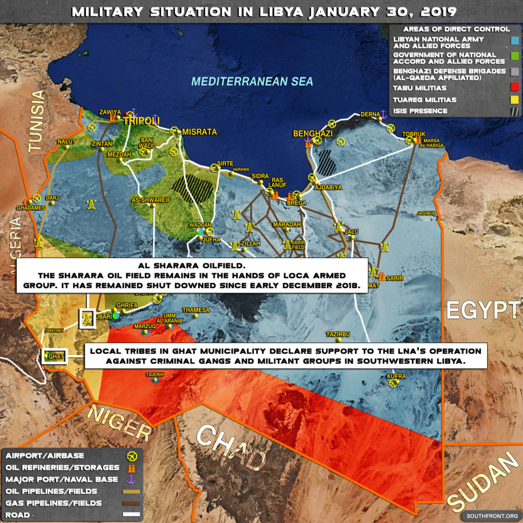 Libya's Largest Oil Field Remains Shut Down Since Early December 2018