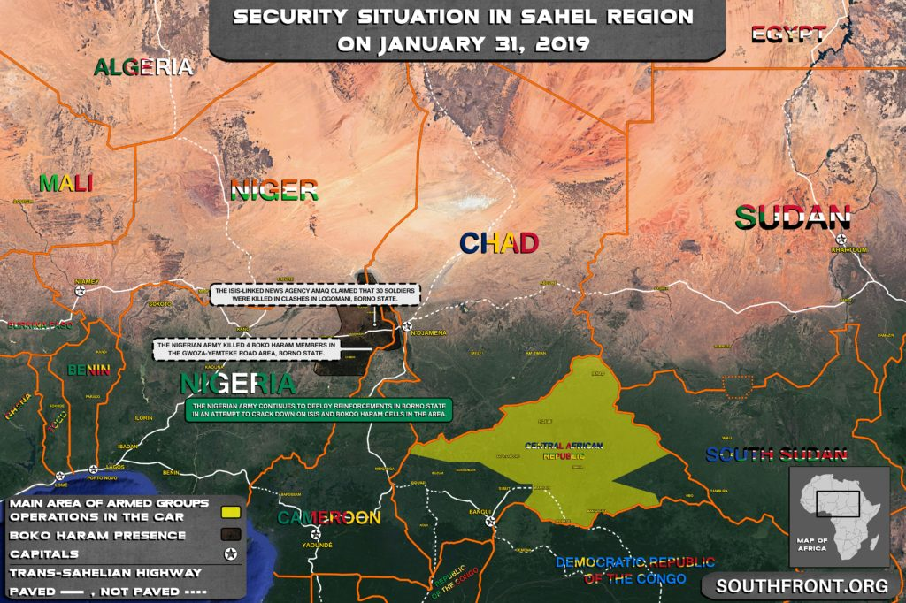 Map Update: Nigerian Army Deploys Reinforcemenets In Borno Amid Continued Attacks By Terrrorists
