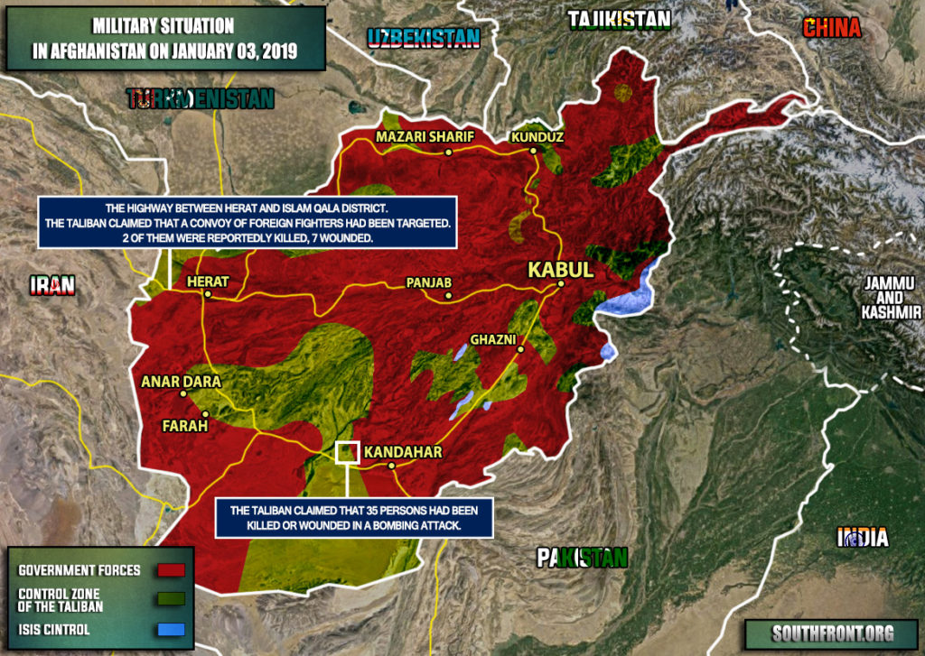 Taliban Claims Its Members Killed 2 Foreign Troops In Afghanistan (Map Update)