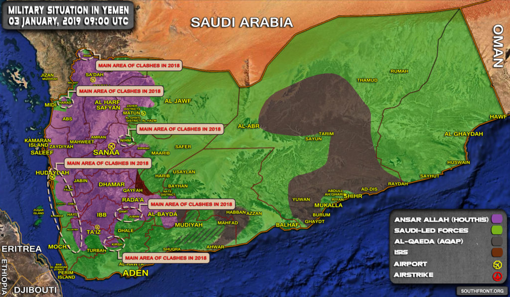 Yemeni Forces Release Summary Of Their Operations Against Saudi-led Coalition In 2018 (Infographics, Map)