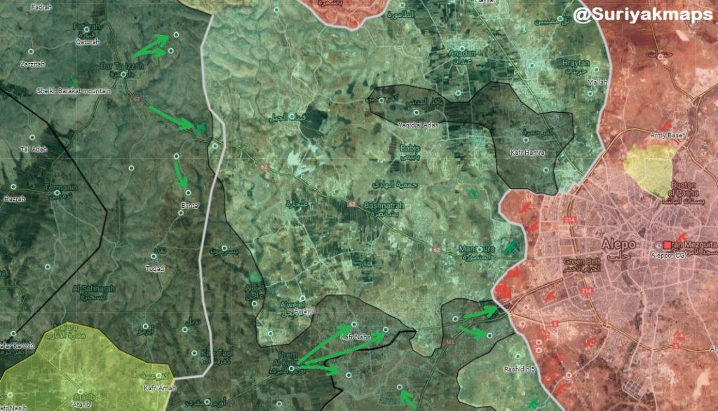In Maps: Clashes Between Hayat Tahrir al-Sham And Turkish-backed Militants In Idlib De-Escalation Zone