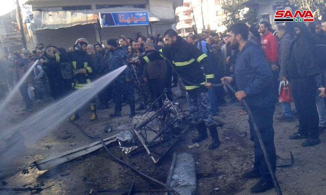 1 Civilian Killed, 14 Injured In Car Bomb Explosion In Syria's Lattakia (Photos)