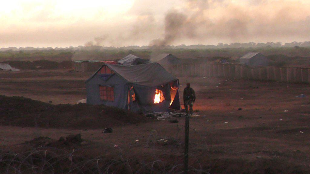Al-Shabaab Overruns Military Camp In Somali. US Claims 52 Militants Killed In Airstrikes (Photos)