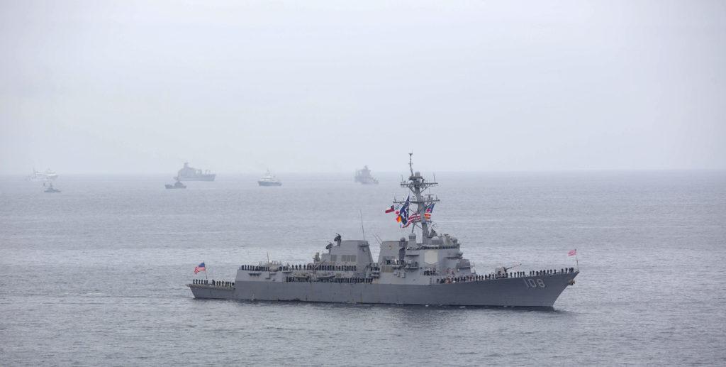 US Navy Testing New Ship Pairing - Destroyer & Amphibious Transport Dock