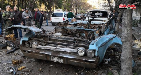 Explosion Near Russian Embassy In Damascus (Photos)