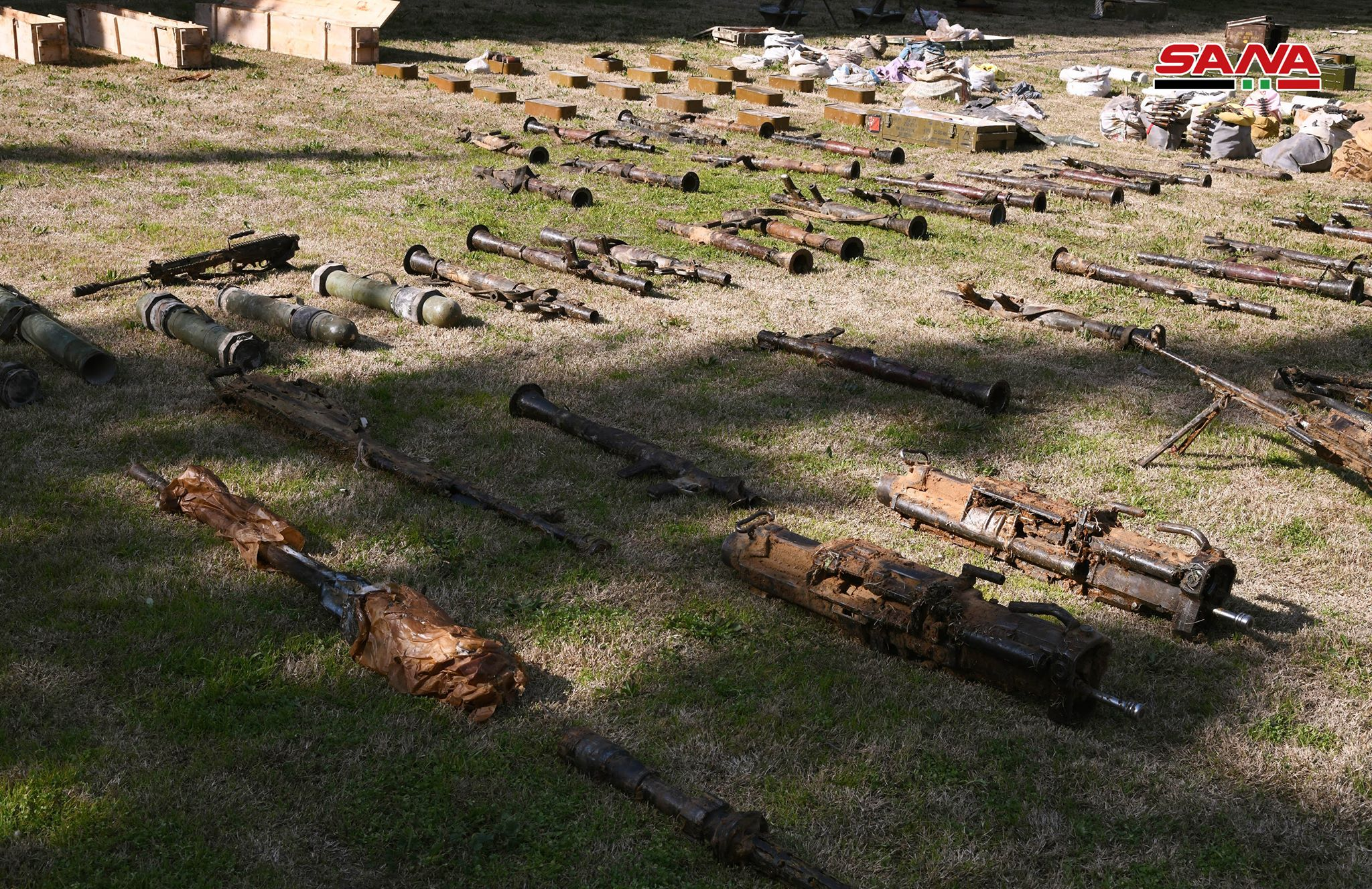 Syrian Army Uncovers Large Weapons Cache In Eastern Ghouta (Video, Photos)