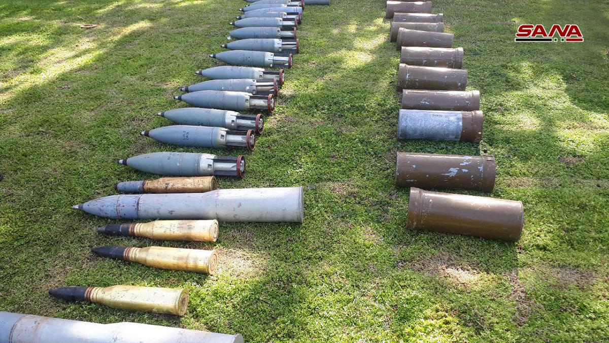 Syrian Army Uncovers Loads Of Weapons, Including TOW Missiles, In Daraa, Homs & Damascus (Video, Photos)