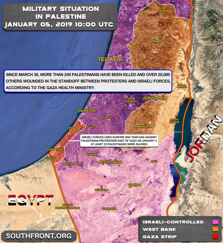 Israeli Forces Killed Over 240 Palestinians, Injured 20,000 Since Start Of Gaza Protests