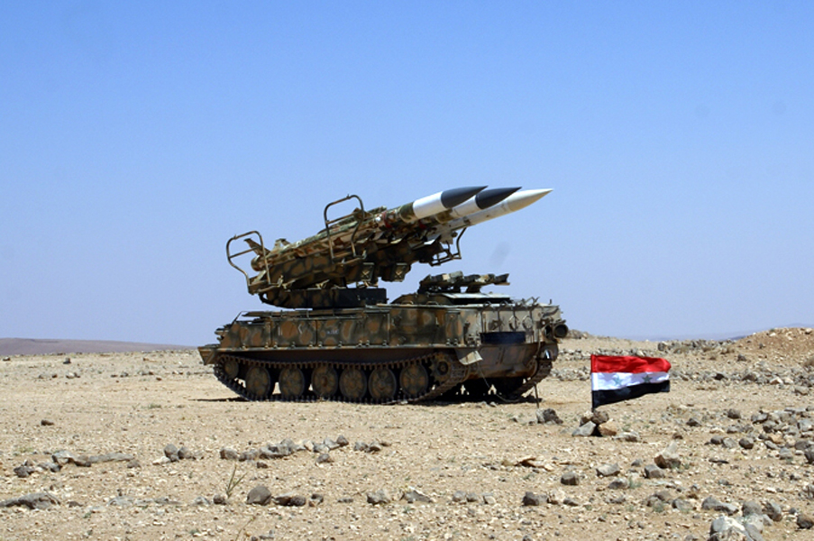 Syrian Air Defense Forces Repel Israeli Airstrike On Damascus