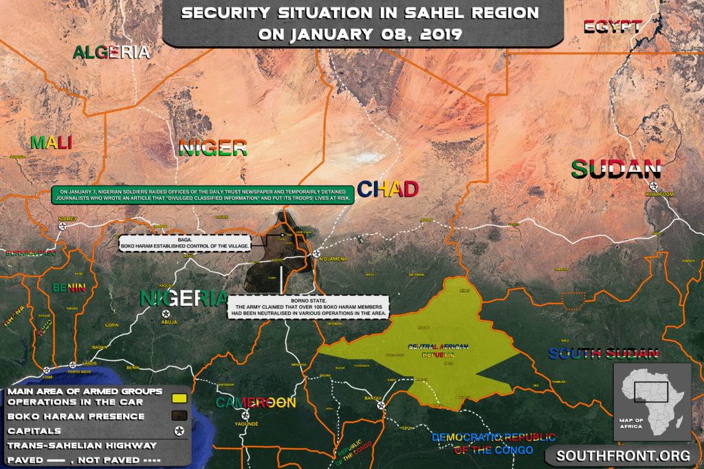 Over 100 Boko Haram Terrorists Were Neutralized In Borno: Nigerian Army (Map)