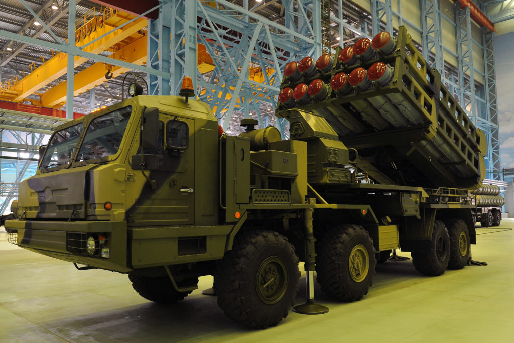 Russian Military To Get New S-350 Vityaz Missile Systems In 2019