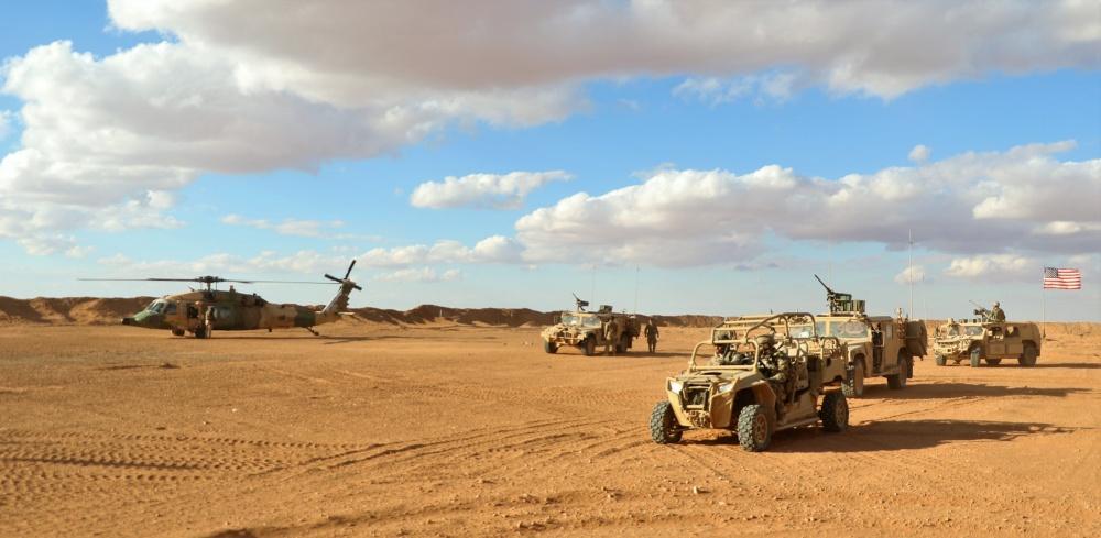 US-led Coalition Is Establishing Permanent Base In Syrian-Iraqi-Jordanian Border Triangle – Report
