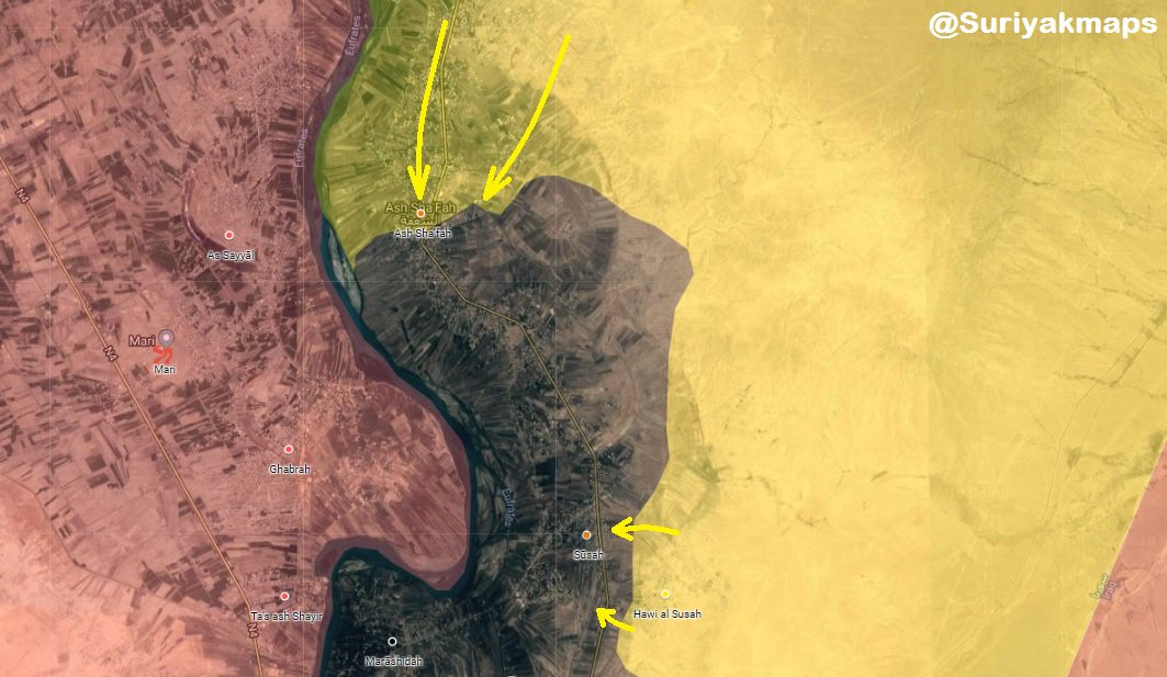 Syrian Democratic Forces Continue Their Advance In Euphrates Valley Despite ISIS Resistance