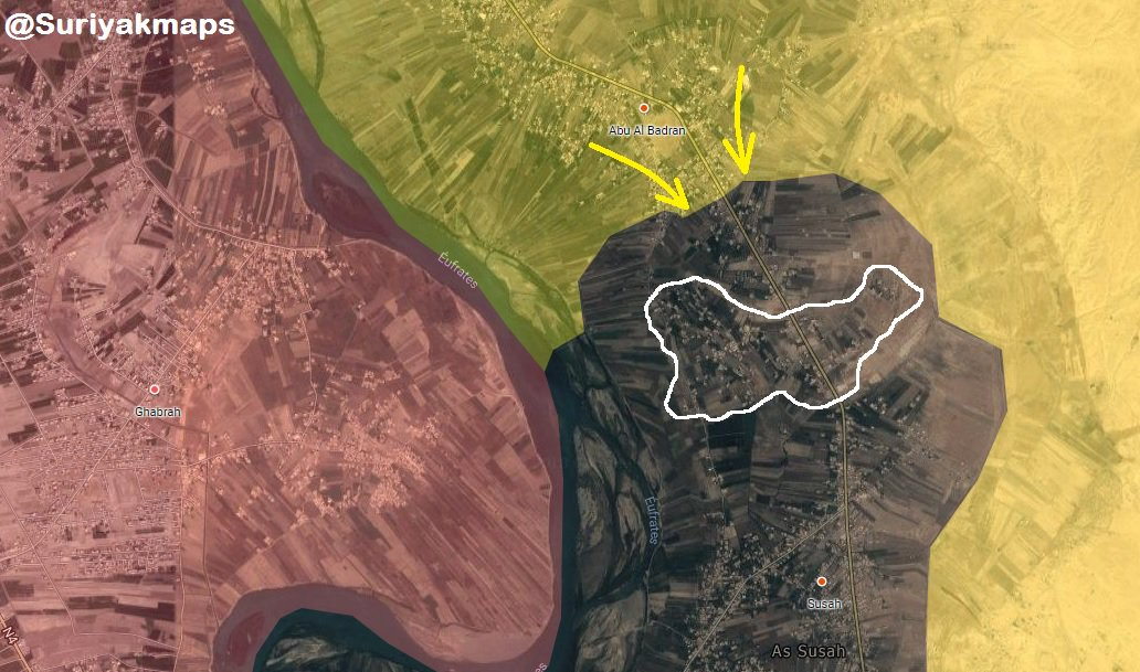 Syrian Democratic Forces Liberate New Town In Euphrates Valley (Map)