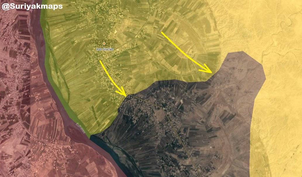ISIS Withdraws From Another Town In Euphrates Valley Amid Heavy U.S. Bombardment (Map)