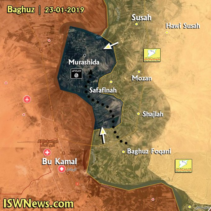 ISIS Defense In Euphrates Valley Collapses Following Months Of Battles (Map, Video)
