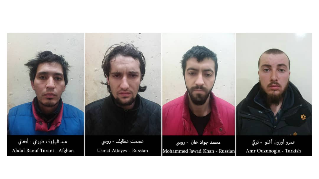 Syrian Democratic Forces Capture Turkish, Afghan And Russian Members Of ISIS In Special Operation