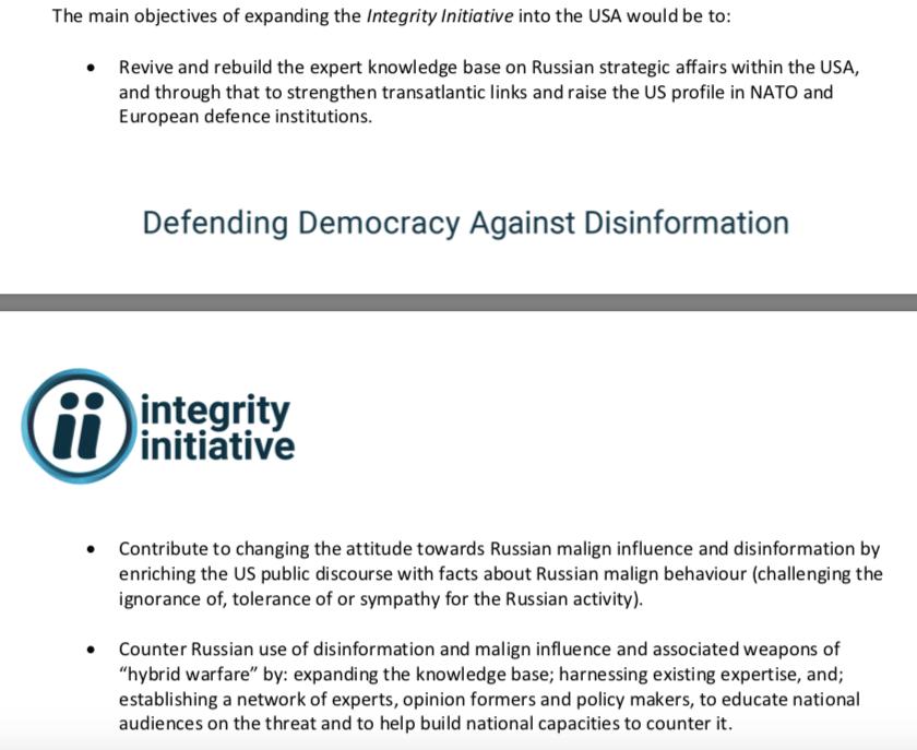 Integrity Initiative Sails Its Smear Campaign Over Atlantic To U.S.