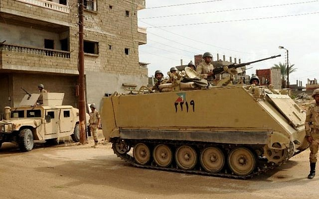 Egyptian President Confirms Contacts Wirh Israel Over Anti-ISIS Operation In North Sinai