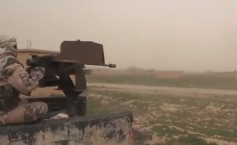 ISIS Releases Footage Of Clashes With US-backed Forces In Euphrates Valley