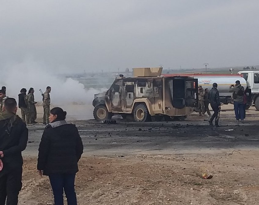 ISIS Suicide Bomber Attacks Coalition Convoy In Syria's Haskah Province (Photos, Video)