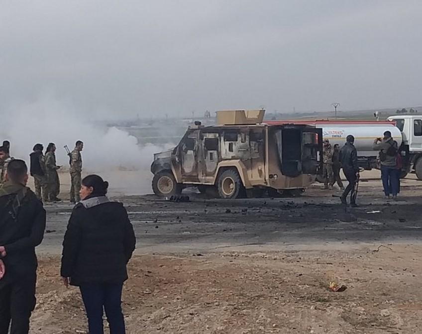 Deux soldats américains blessés et cinq membres du SDF tués lors d'une attaque contre un convoi de la coalition dans la province syrienne de Haskah (Photos, Vidéo)