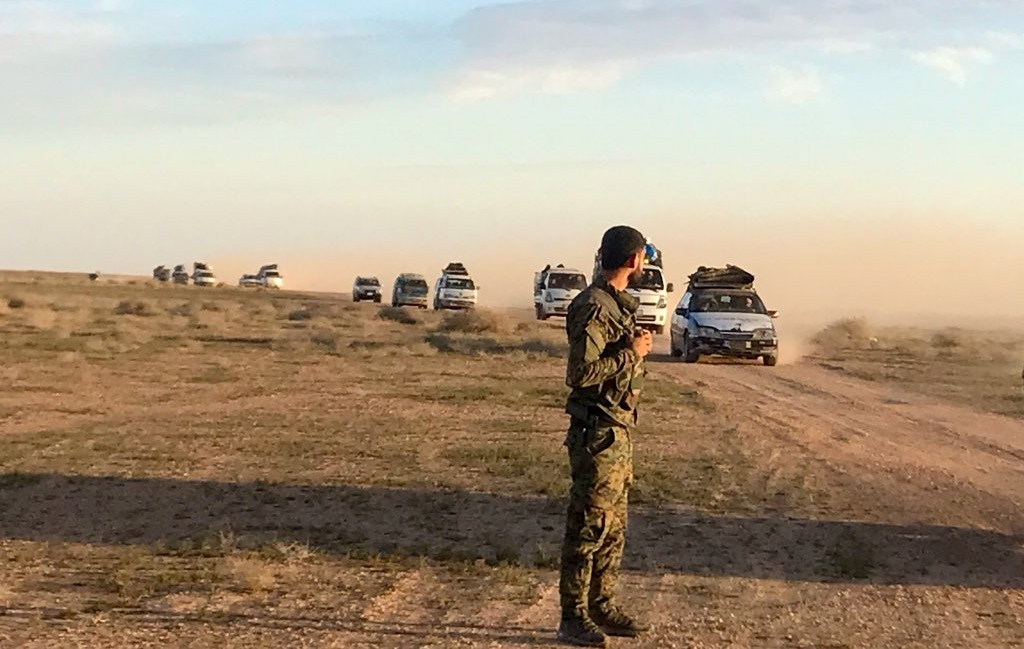 Dozens Of ISIS Fighters Surrender To US-Backed Forces In Euphrates Valley