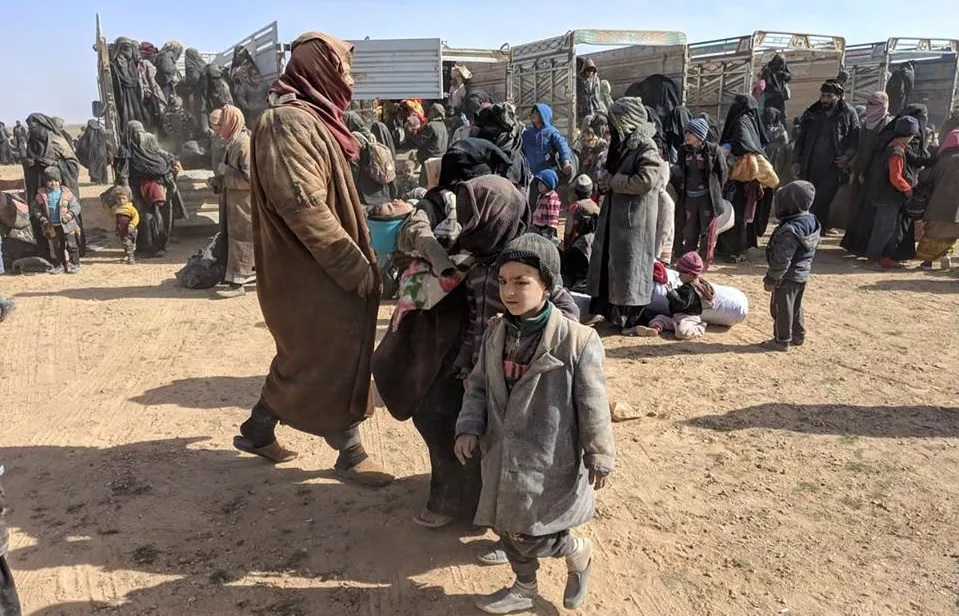 Security Forces Foil Attempt To Smuggle ISIS Wives, Children From Al-Hawl Camp