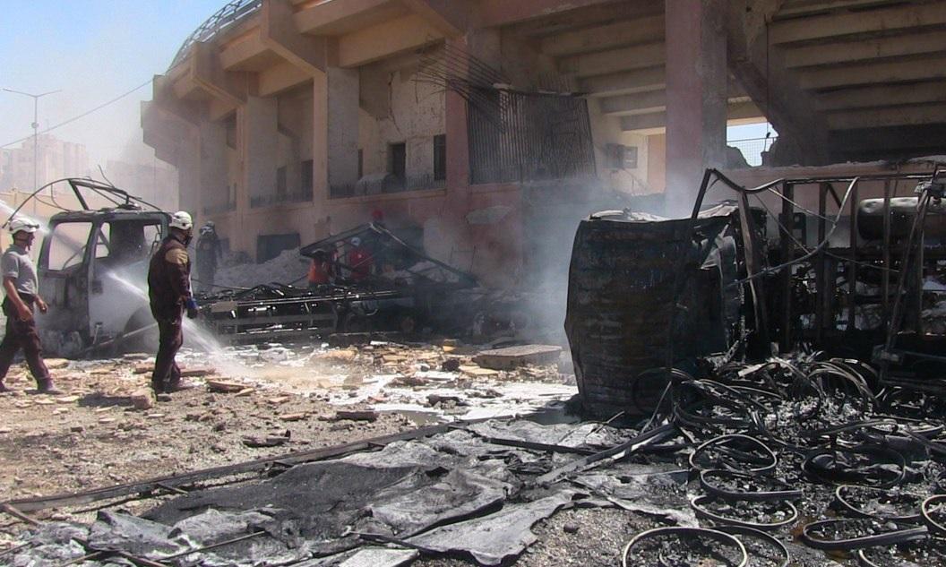 Second Bomb Blast In 24 Hours Hits Idlib City