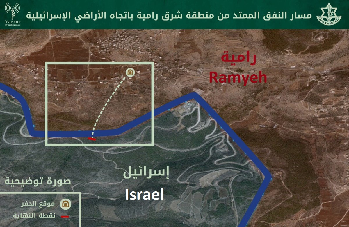 Israeli Army Concludes Operation Northern Shield (Video)