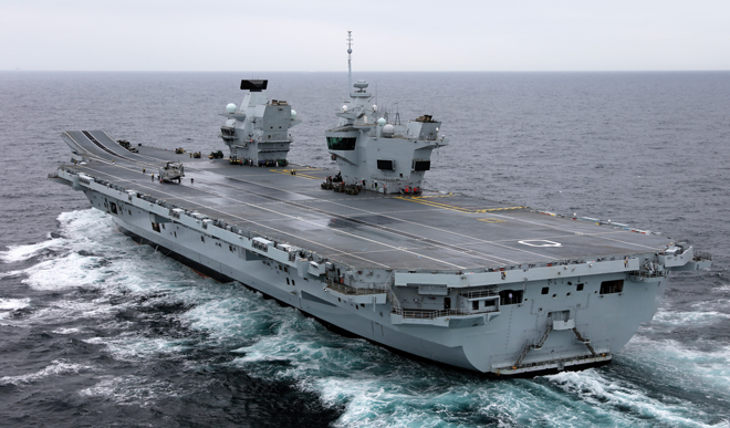 Britain Considers To Establish New Naval Base In Southeast Asia: Reports