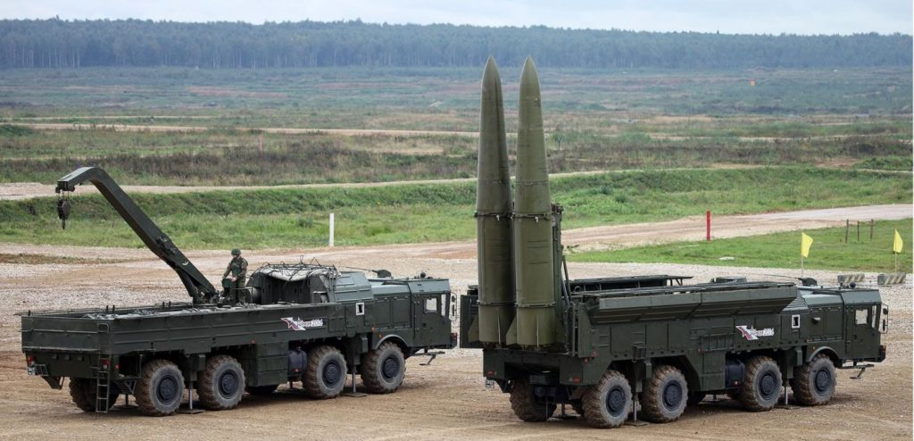 Russia Rearms Its Missile Troops And Artillery Units With Iskander-M Missile Systems