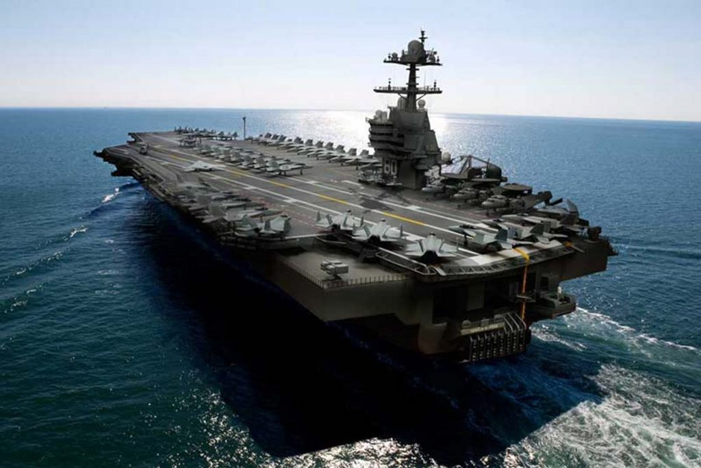 US Navy Is Expected To Award Contract For Two Aircraft Carriers
