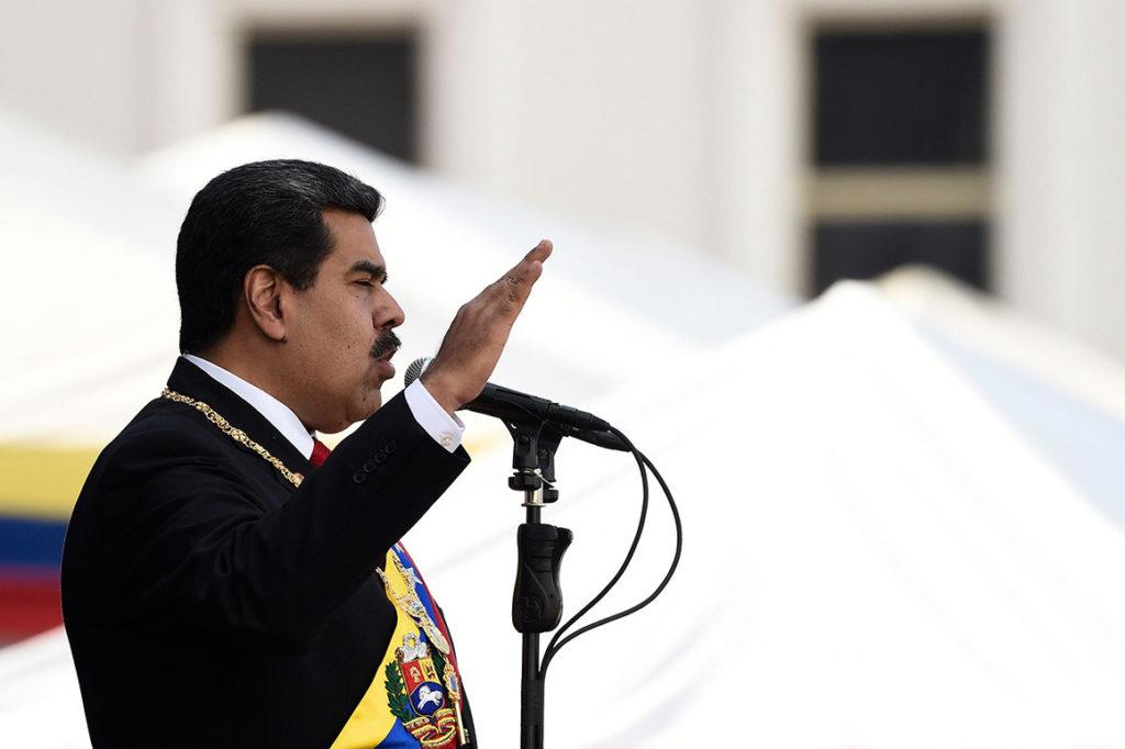 "Bolton: US Does Not Recognize Venezuelan President Maduro's ""Illegitimate"" Power"