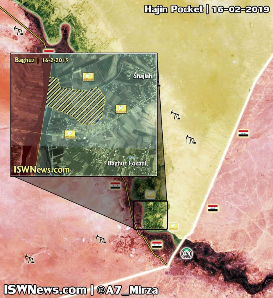 Map Update: ISIS Reportedly Surrendered To US-backed Forces In Euphrates Valley