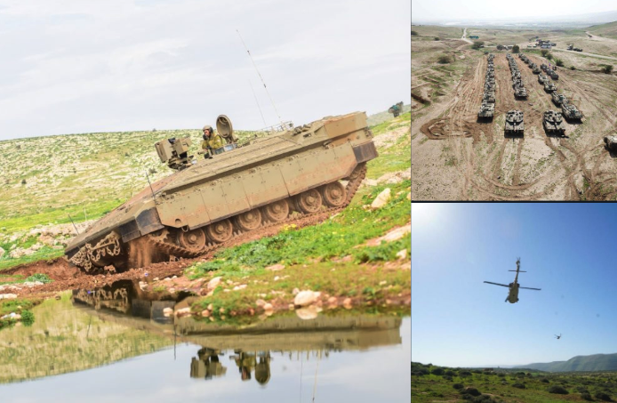 """IDF Conducts Massive Exercise To """"Simulate Conditions Of War With Hezbollah"""""""