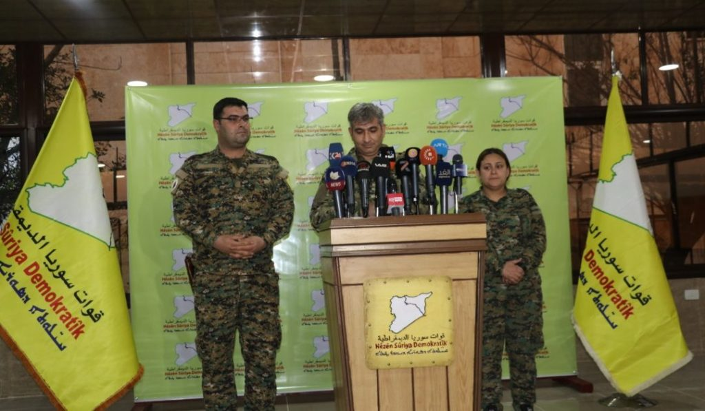 SDF Demads Damascus To Recognize Northeastern Syria Autonomy, Vows To Liberate Afrin