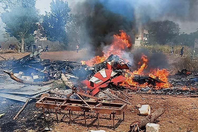 2 Jets Of India's Surya Kiran Aerobatics Team Crash In Bengaluru (Videos)
