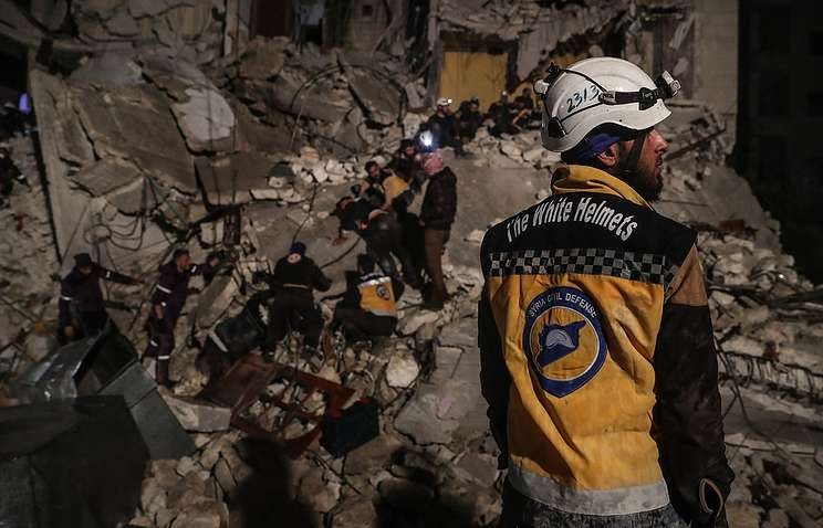 Russia To Press For Putting White Helmets On Trial For Crimes In Syria: Foreign Ministry