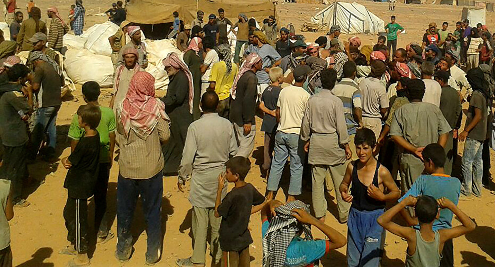 Militants Continue Preventing Civilians From Leaving Rukban Camp: Russian Military