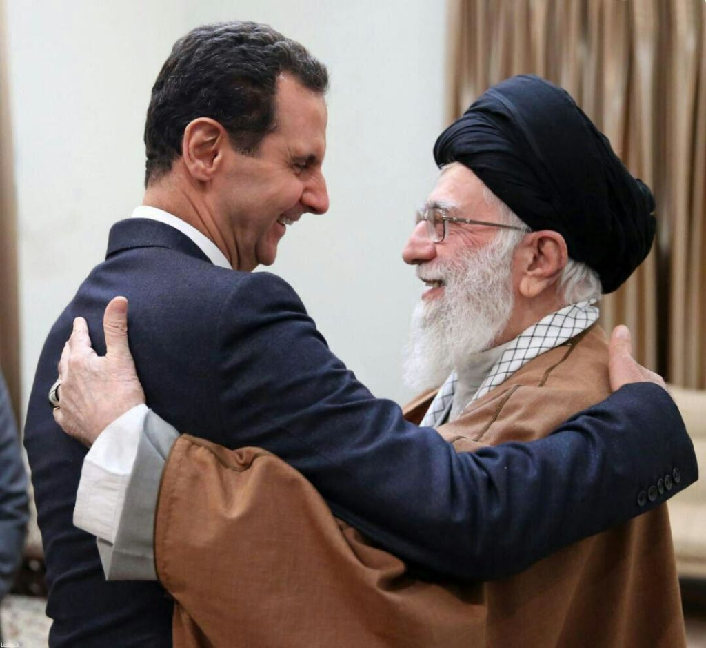 Assad Visits Tehran, Meets Ayatollah Khamenei For First Time Since Start Of War