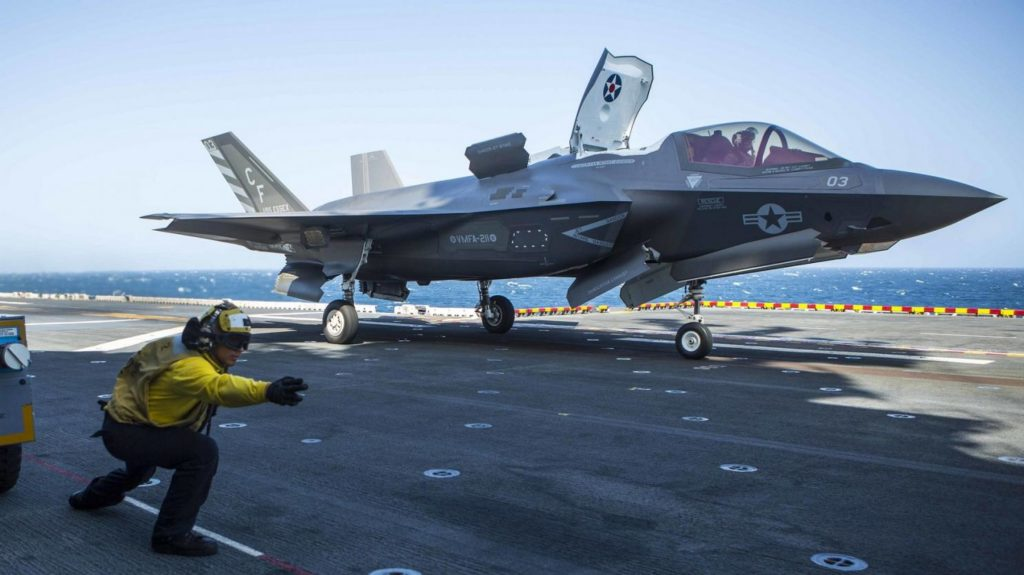 F-35B Jets Flew Over 100 Combat Sorties Against Taliban And ISIS: U.S. Marines